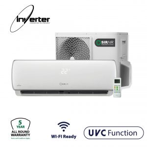 UVC Sirair Sterilization Unity Intelligent Midwall Split Air Conditioner